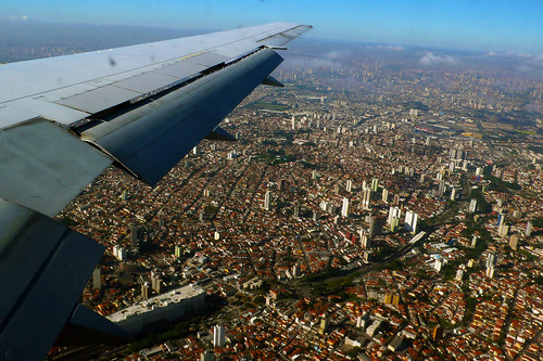 Flying into Sao Paulo