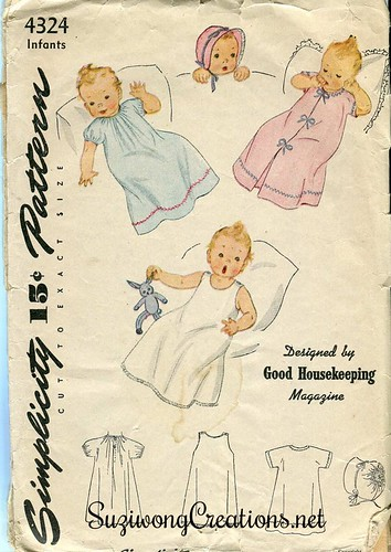 Simplicity 4324 - ca 1947 (also issued as 2044)