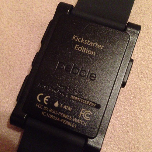 Pebble Kickstarter Edition