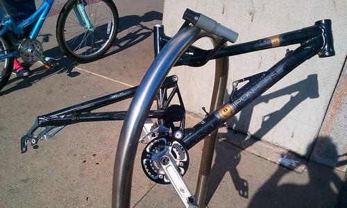 Stripped bike is a sad bike