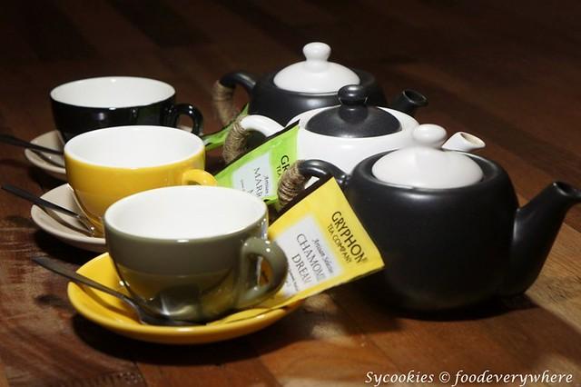 10.Gryphon teas .