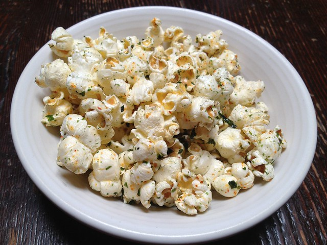 Seasoned popcorn - The Alembic
