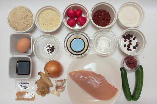 Ingredients for Chicken Katsu