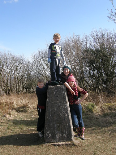 By the trig pillar