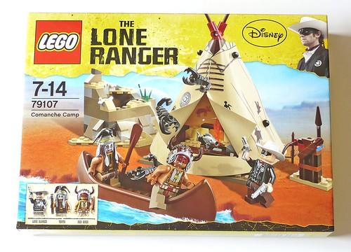 The Lone Ranger 79107 Comanche Camp box01