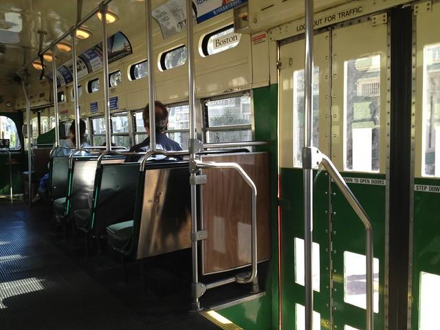 SF Muni Boston streetcar