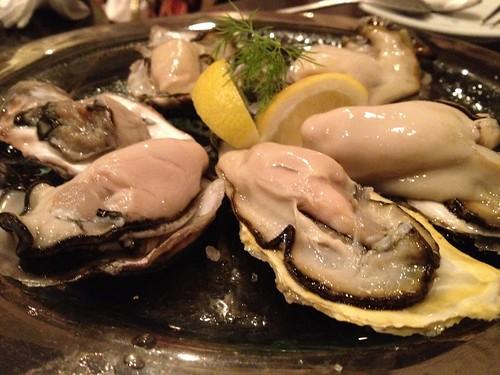 生牡蠣 6piece PLATE 『春香』入り@Me Chablis(ムシャブリ)
