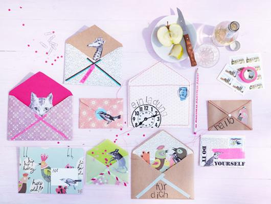 Crafty Handmade Envelopes DIY