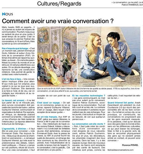 """Interview de Arash Derambarsh (Président du Club """"Courbevoie 3.0"""") dans le journal Ouest-France by Arash Derambarsh"""