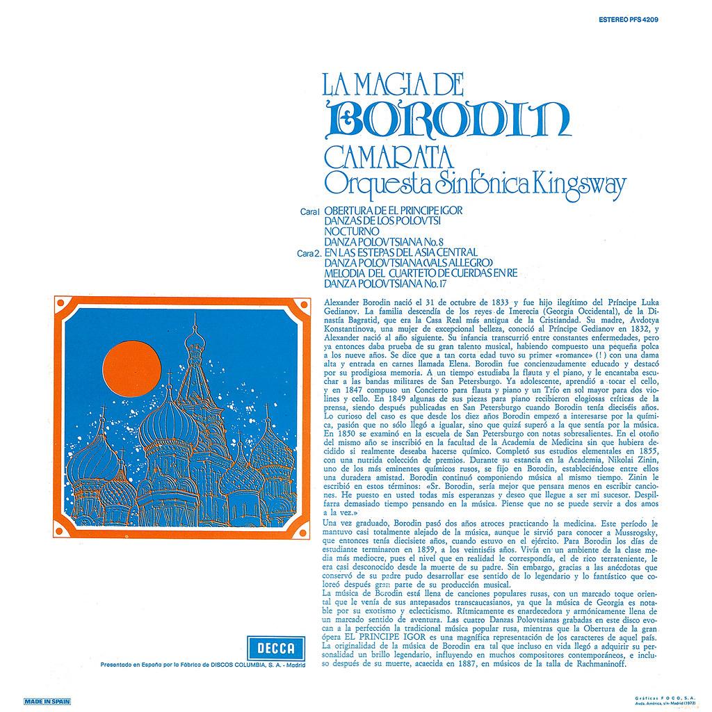 Tutti Camarata - La magia de Borodin