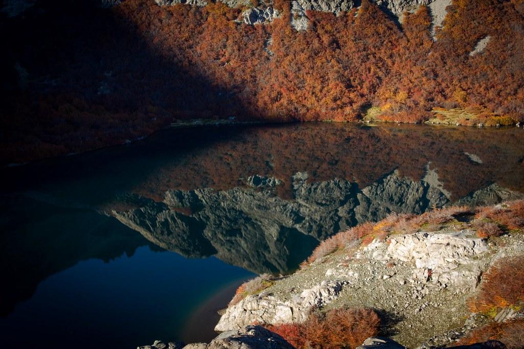 Autumn around Laguna Jacob. PN Nahuel Huapi. Argentina.