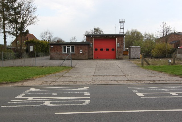 Hingham  Fire Station, Norfolk