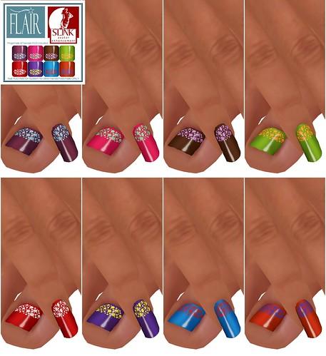 Flair - Nails Set 33