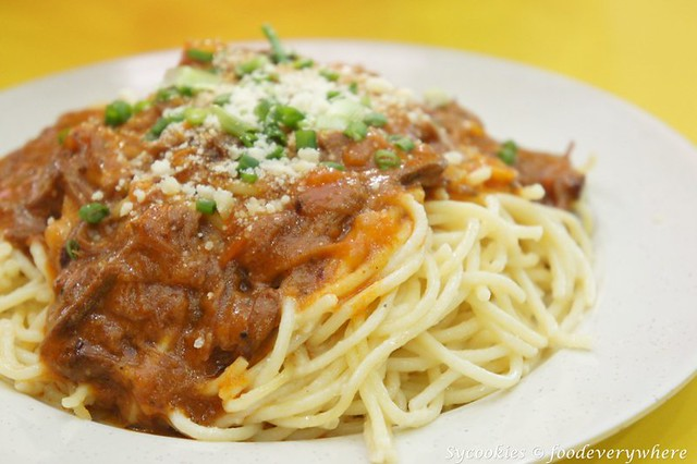 13.Beef Spaghetti-Chargrill express .