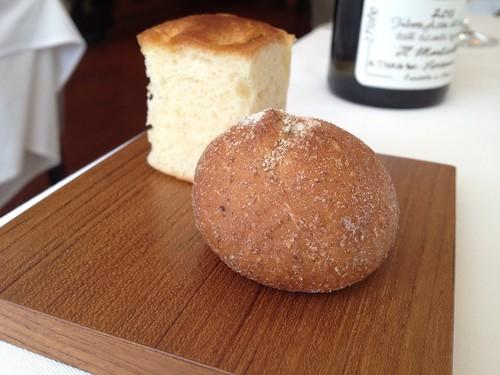 自家製のパンたち@イルプレージョ