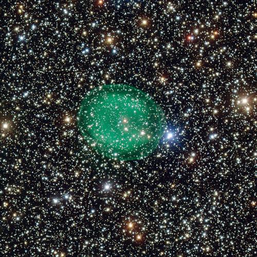 ESO's VLT images the planetary nebula IC 1295