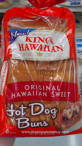 King's Hawaiian Original Sweet Bread Hot Dog Buns