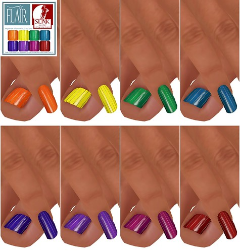 Flair - Nails set 29