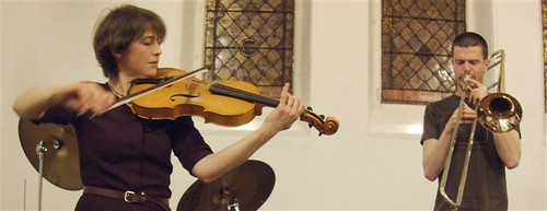 Jooklo Duo, Bennet/Murray/Vullliamy, Matthew Bourne @ Delius Arts, Bradford 9.4.13