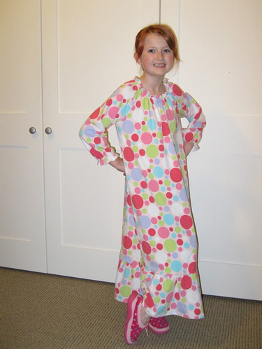 vintage Butterick nightdress