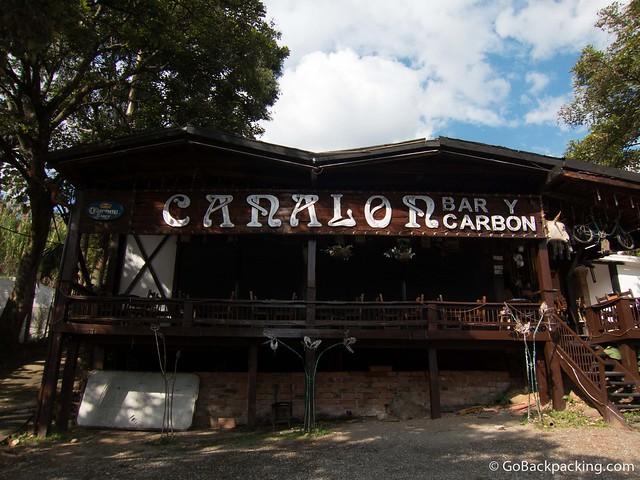 Canalon bar