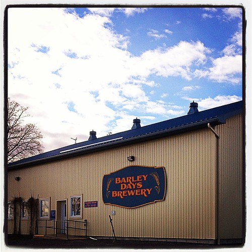 Mar 27 - 'z' {Zythepsary (n) A brewery.  Barley Days Brewery} #photoaday #beer #brewery #princeedwardcounty