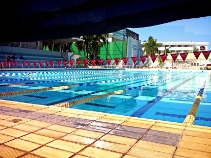 Our free swimming pool in Campeche