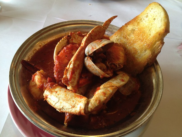 Crab cioppino - Fishermen's Grotto