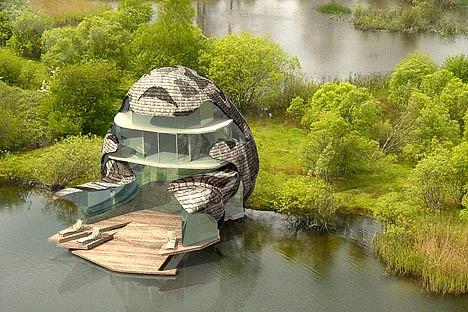 Reduce el impacto ambiental con la eco - arquitectura.