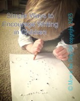 Encourage Children to Write