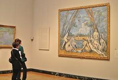 Admiring Cezanne