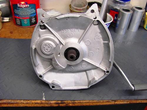 Refinished Transmission Front