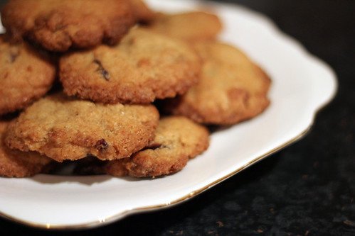 White Chocolate and Cranberry Cookies (5/5)