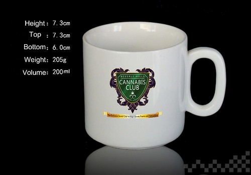 Beverly Hills Cannabis Club Cup KCP-077 by CherylShumanInc