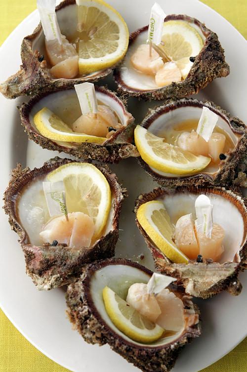 Lebanese scallops