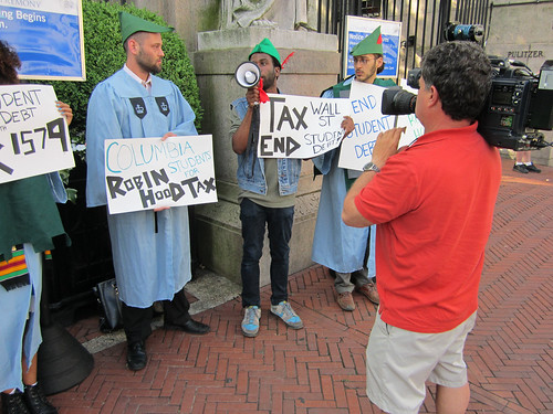 Columbia Grads for Robin Hood Tax by Robin Hood Tax USA