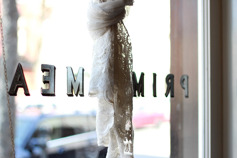 lace curtain at prime meats