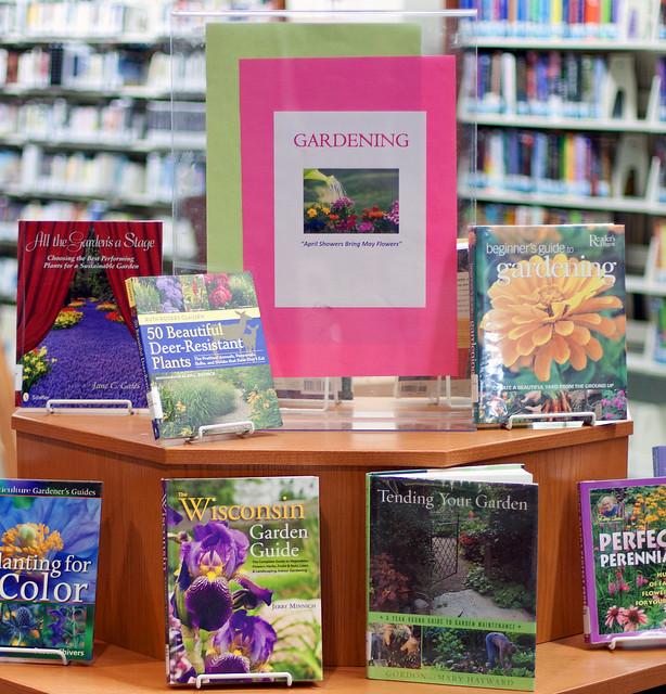 Gardening Book Display