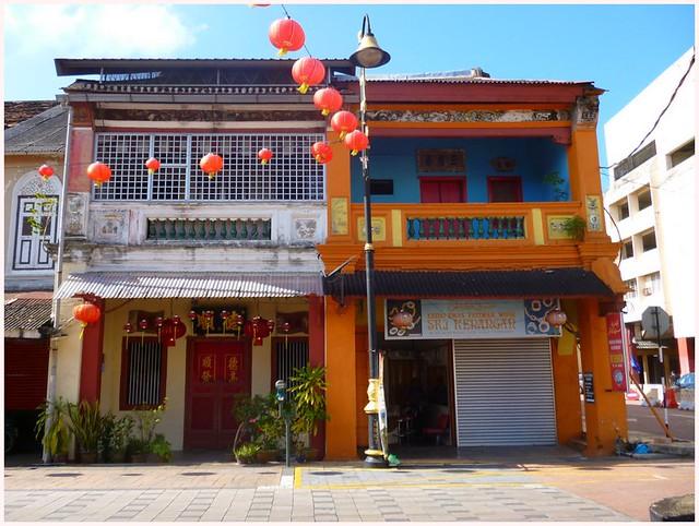 Kuala Terengganu Chinatown shophouses