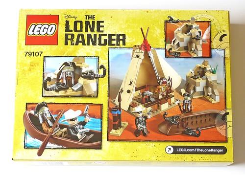 The Lone Ranger 79107 Comanche Camp box02