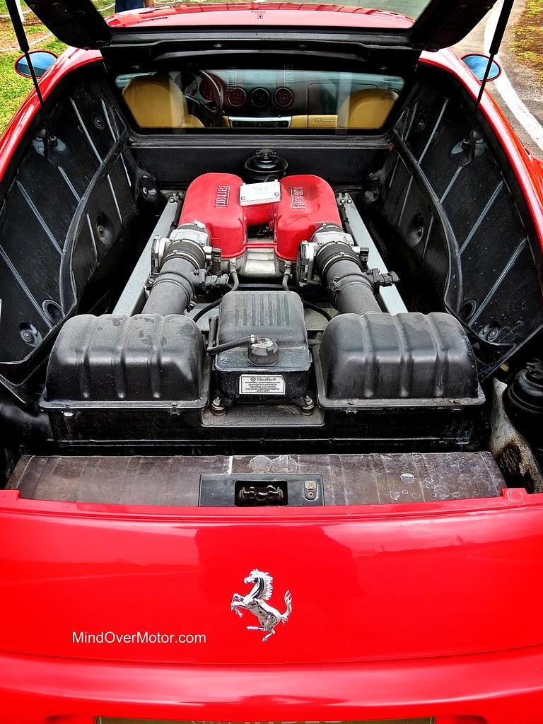 Ferrari 360 Modena V8 Engine Bay