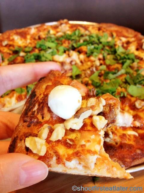 "Steveston Pizza -12"" Black Pizza P649 5"