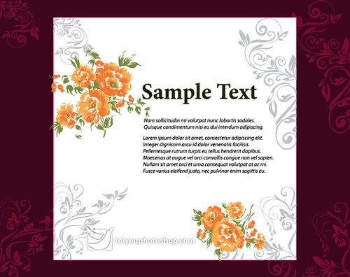Free-Vector-Wedding-Invitation-Card-Design-Template