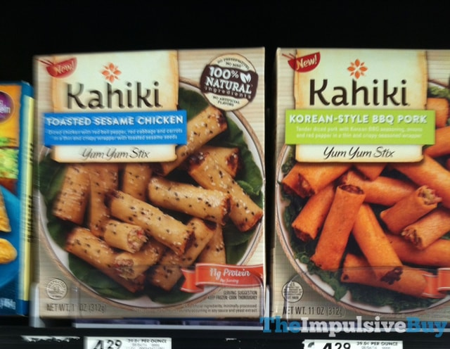 Kahiki Yum Yum Stix (Toasted Sesame Chicken and Korean-Style BBQ Pork)