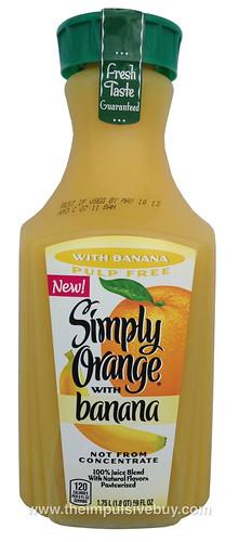Simple Orange with Banana