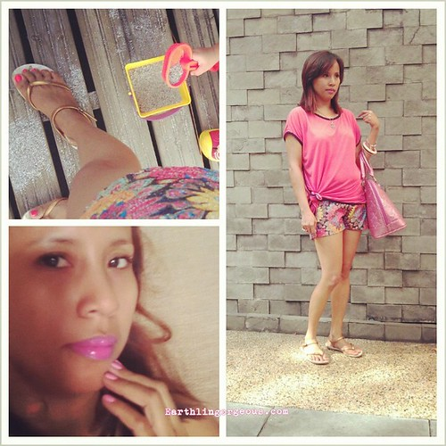 summer na summer hand and toe nail colors and outfit!