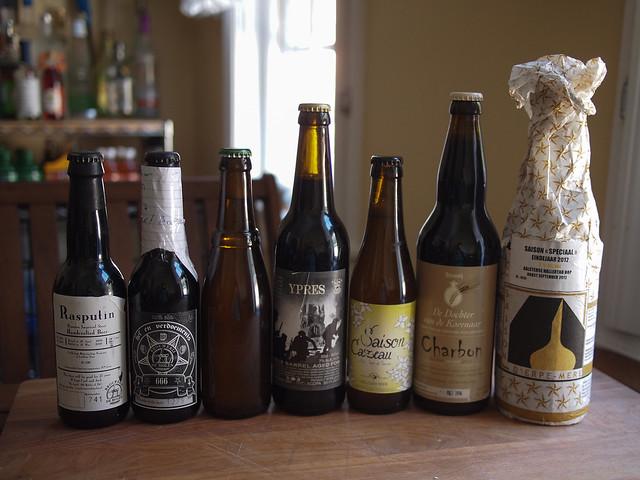 Belgian Beer Haul 4-3-13