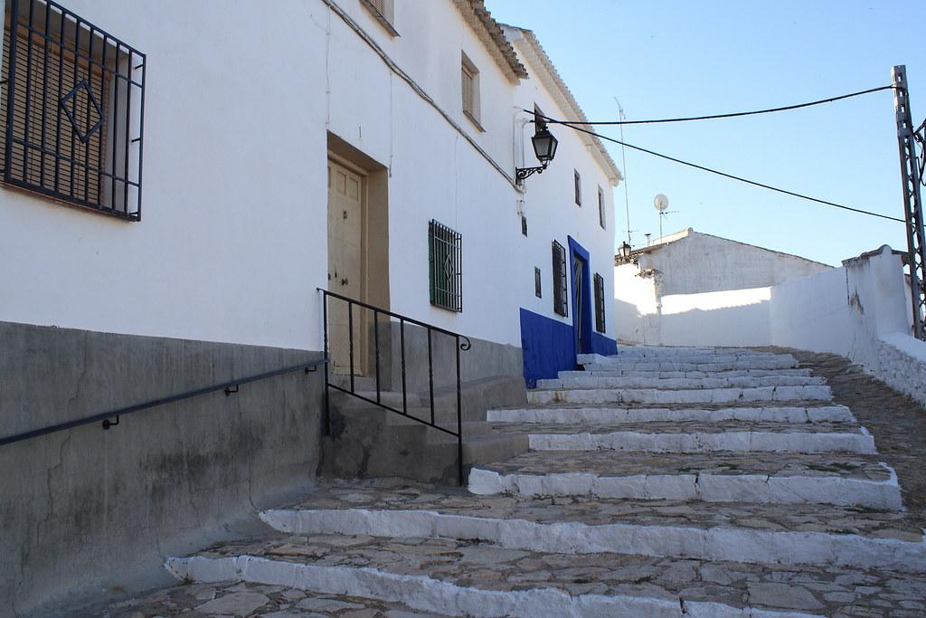 Calle de Campo de Criptana. Autor, M. Peinado
