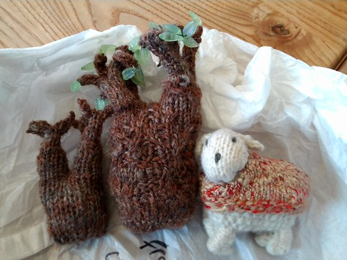 donated trees and sheep from Pleasantville! by MadeleineS