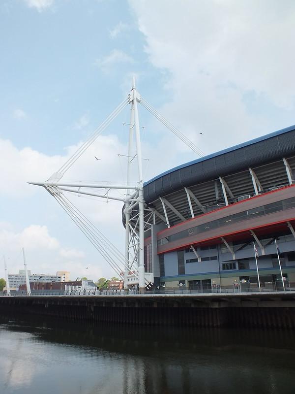 Millennium Stadium painting